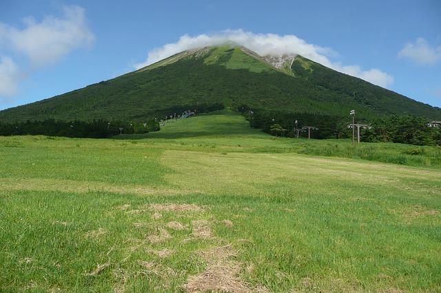 鳥取県の国立公園大山