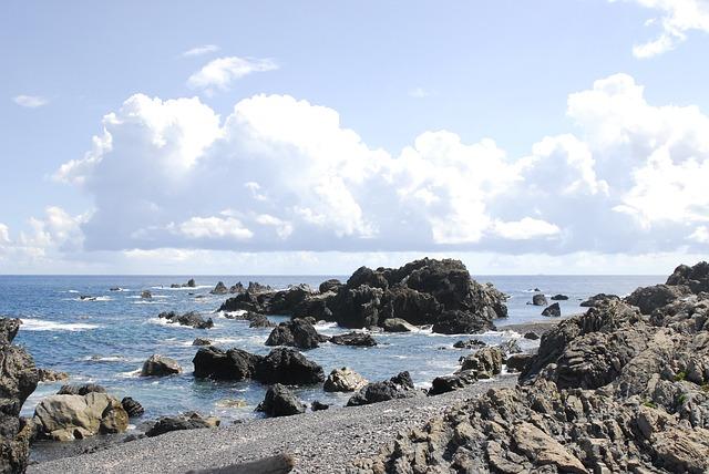 室戸岬の海岸