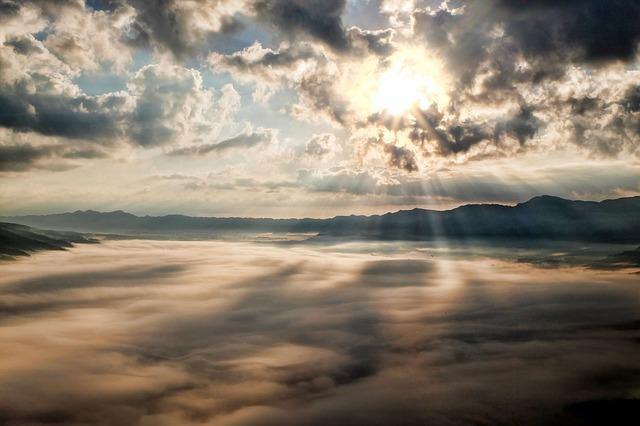 熊本の雲海